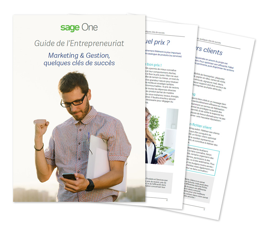 Guide de l'entrepreneur marketing gestion
