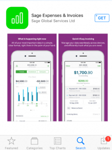 Sage Expense & Invoices App