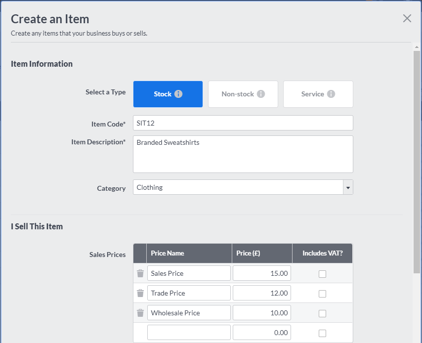 New to Sage One Accounting     Discover Simple Inventory - Sage